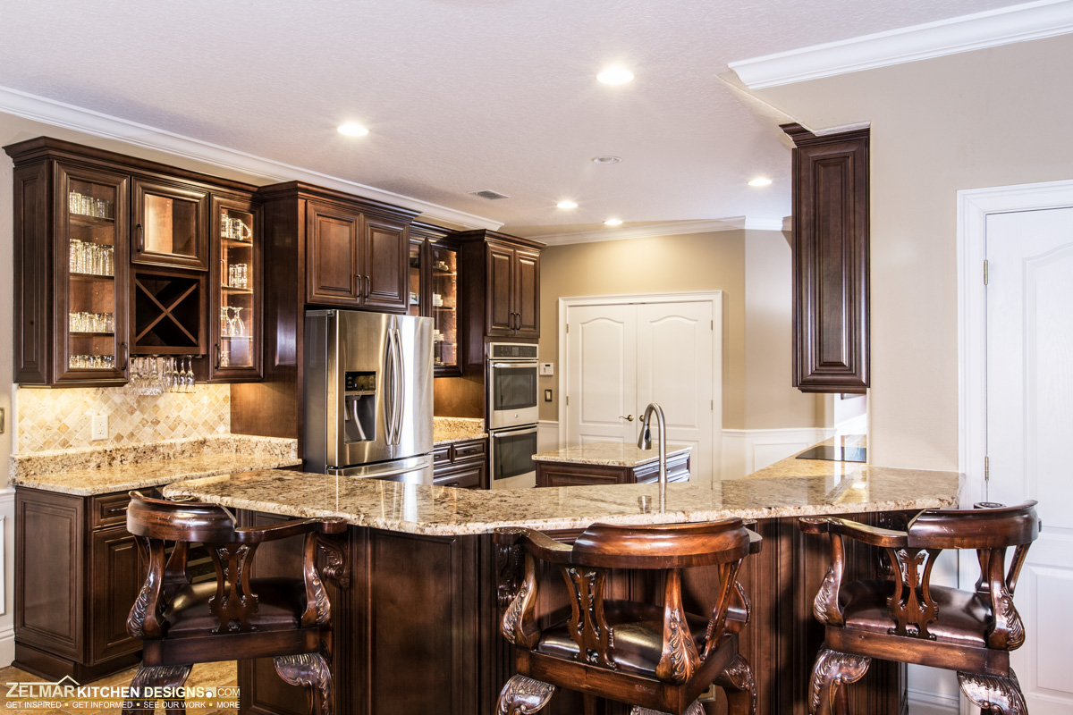 Kitchen Design Ideas: Zelmar Kitchen Designs & More Orlando Cabinetry Design
